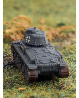 """char léger Tchécoslovaque """"SKODA LT35"""" à l'échelle 1:100"""
