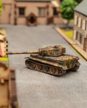 """Reproduction miniature du Char Allemand """"Tigre 1 """""""