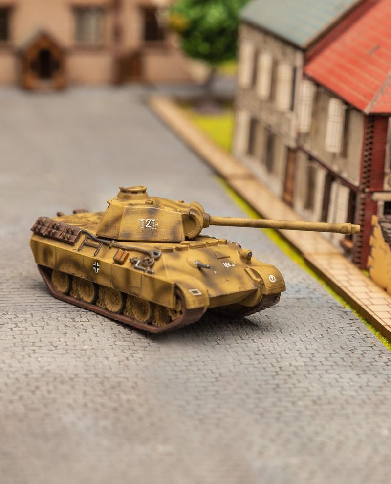 "Char Panzer V  ""Panther"" Ausf A (Shurtzen)"