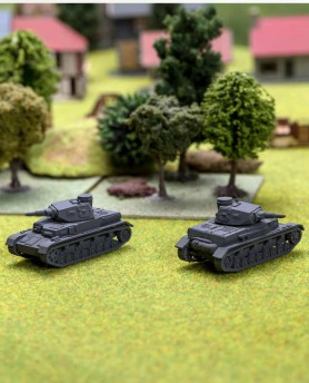 reproduction char Panzer IV ausf D