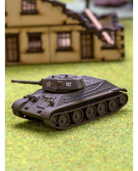 Miniature Char russe T34-76  (1940)