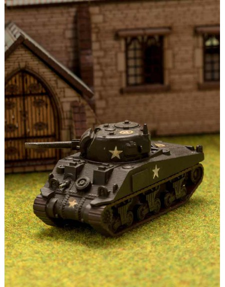 Miniature de Char Moyen Sherman V
